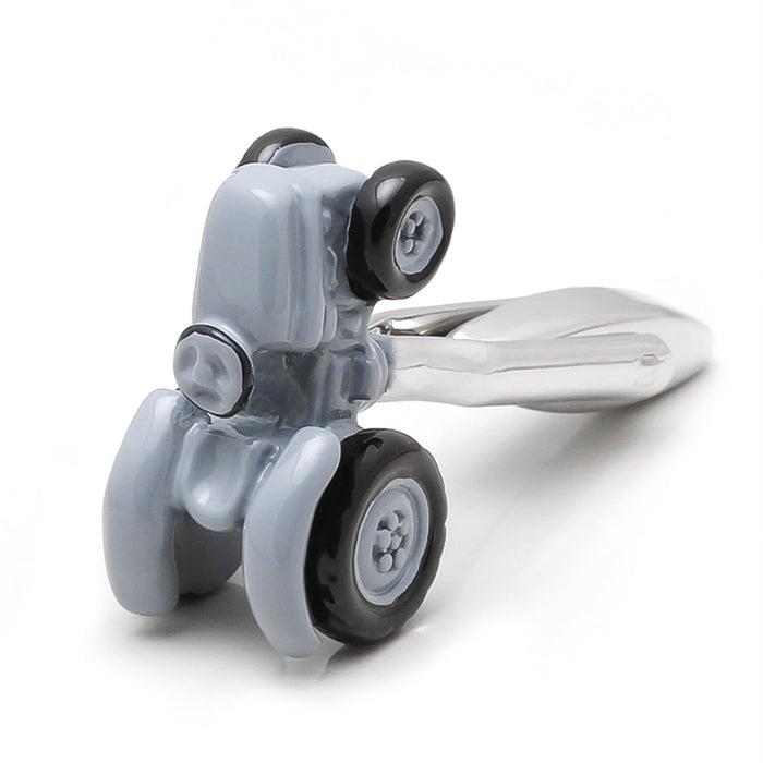 Farm Tractor Cufflinks Grey Top Image