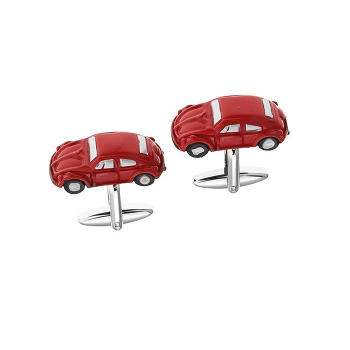 Cufflinks - VW Beetle Red | That Bloke