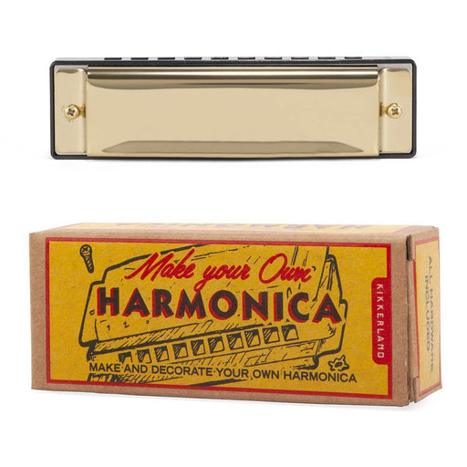 DIY Harmonica Make Your Own Music Front Image