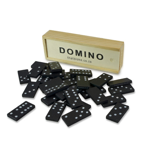 Dominoes - Mini Wooden Set | That Bloke
