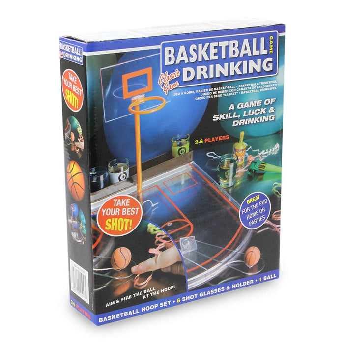 Basketball Hoop Drinking Game Image 2 Box