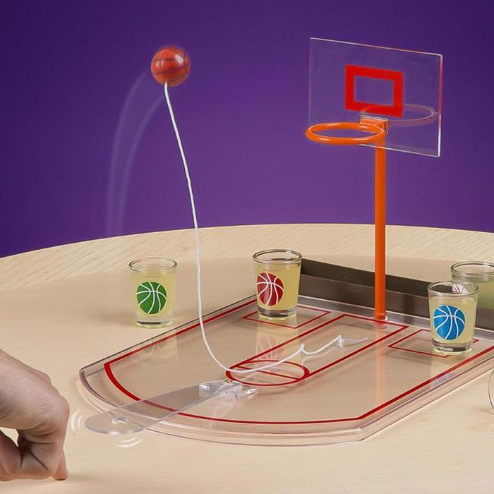 Basketball Hoop Drinking Game Image 3 Illustration