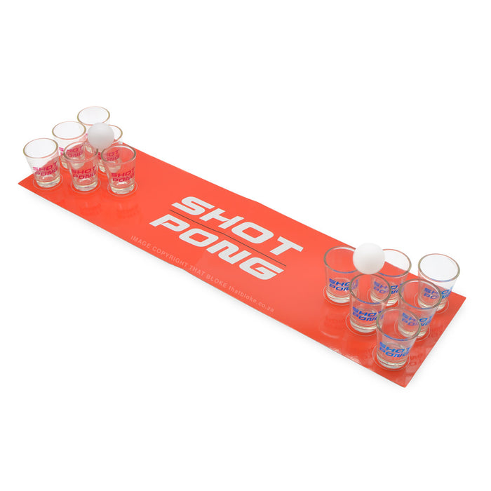 Shot Pong Party Drinking Game