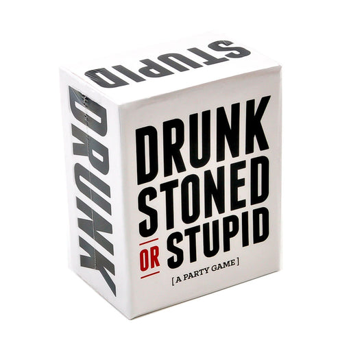 Drunk, Stoned or Stupid Party Game Image 1 Box