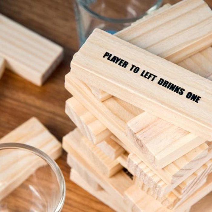 Drunkin Jenga Drinking Game Play Image Blocks 2