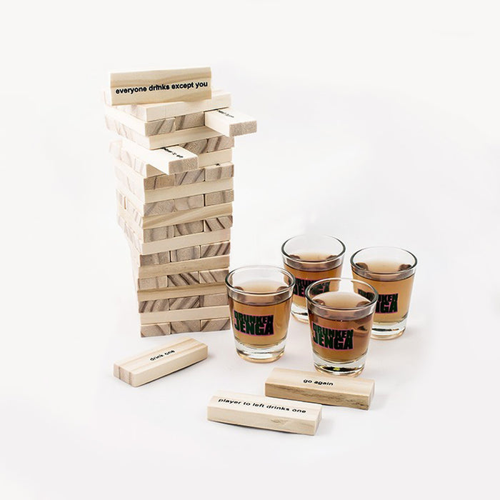 Drunkin Jenga Drinking Game Display Image Shots