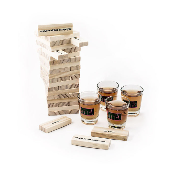 Drunkin Jenga Drinking Game Display Image
