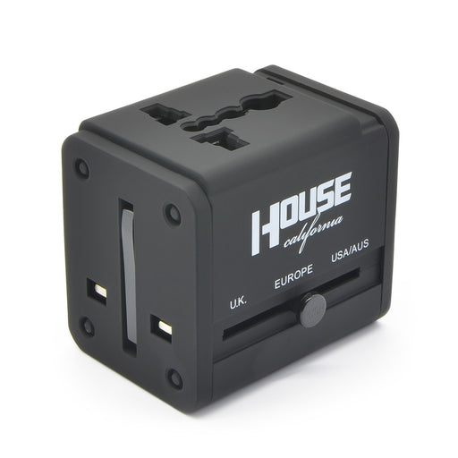 House California Multi-Nation Travel Adaptor Conversion Plug