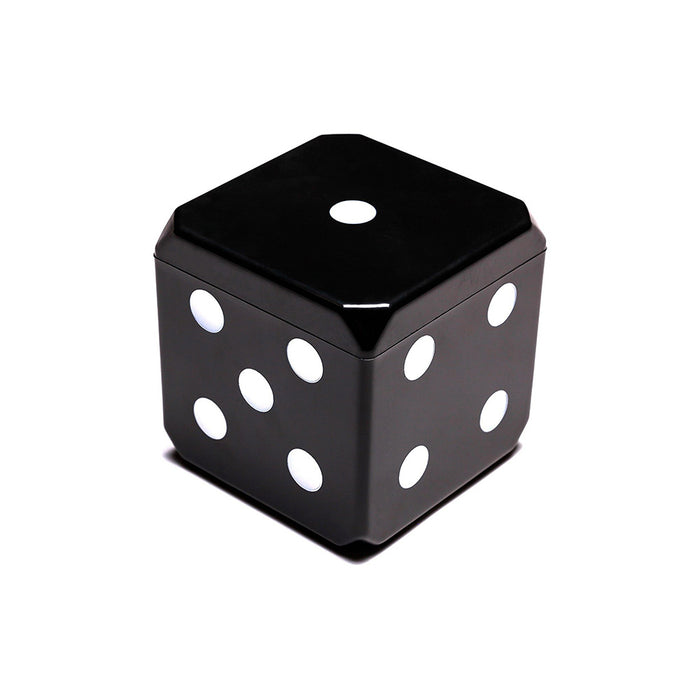 6-in-1 Cube Board Game Image 2 Black