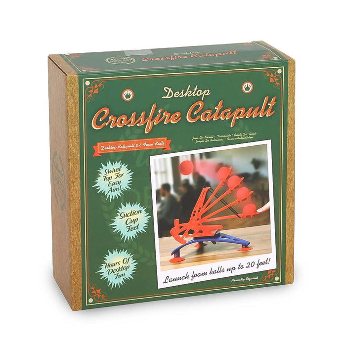 Desktop Office Crossfire Catapult Game Image 2 Box