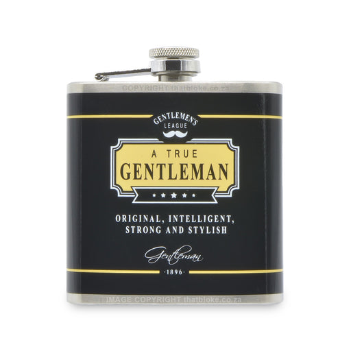 Gentleman Hip Flask Men's Gift Original Intelligent Strong Stylish