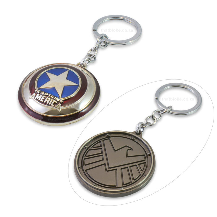 Keychain - Captain America / Agents of Shield | That Bloke