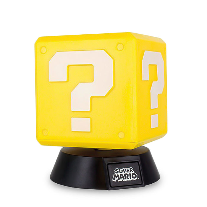 Super Mario Question Block Light Yellow Front