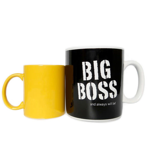 Big Boss Jumbo Mug - Black | That Bloke