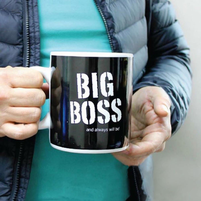 Mug - Big Boss Jumbo Mug (Black)