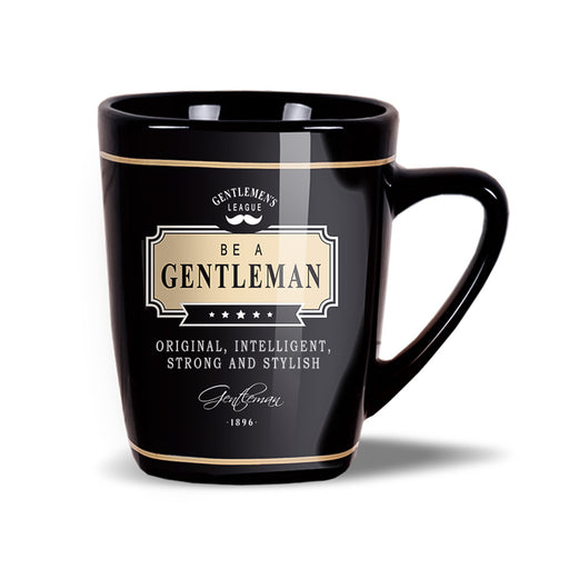 Gentleman Coffee Mug Original Intelligent Strong Stylish Front Image