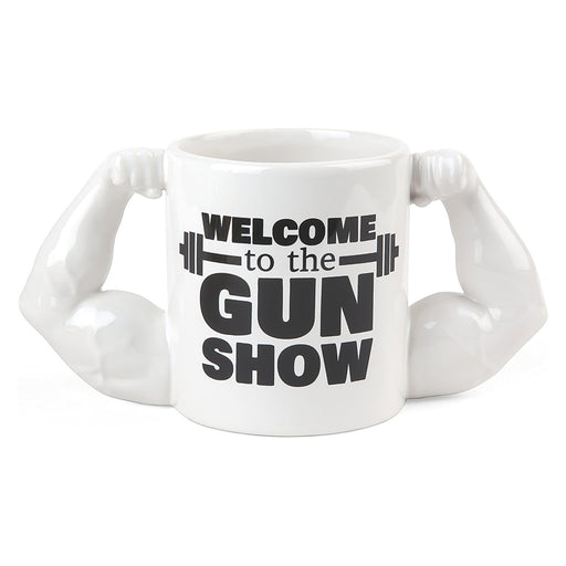 Welcome To The Gunshow Gift Mug White and Black
