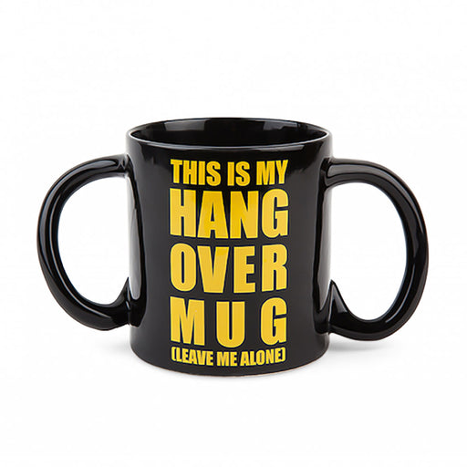 This Is My Hangover Mug dual handles black image front