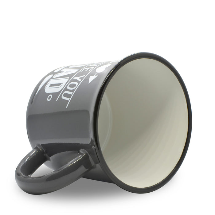 Mug - I Love You Dad (Dark Grey)