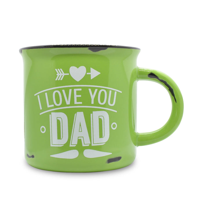I Love You Dad Mug - Green | That Bloke