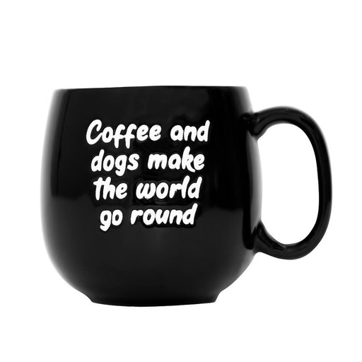 Peek Inside Gift Mug 3D Animal Coffee And Dogs Make The World Go Round