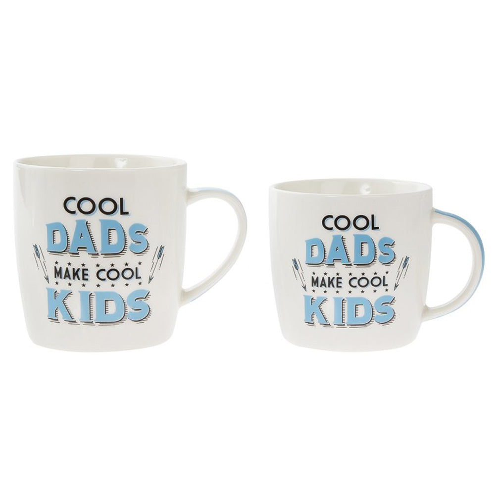Cool Dads Make Cool Kids Mug (Set of 2)