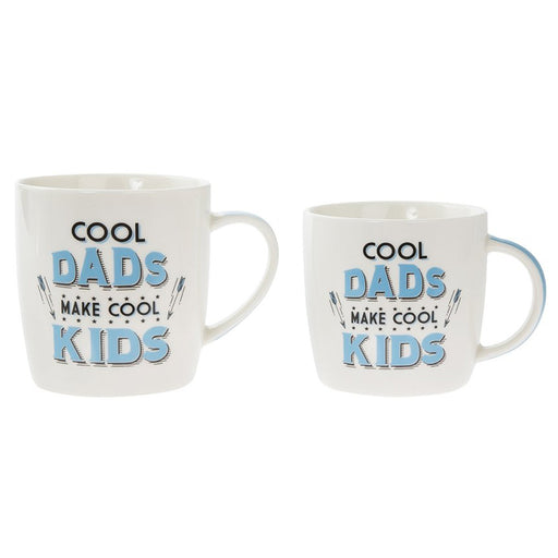 Mug - Cool Dads Make Cool Kids (Set of 2)