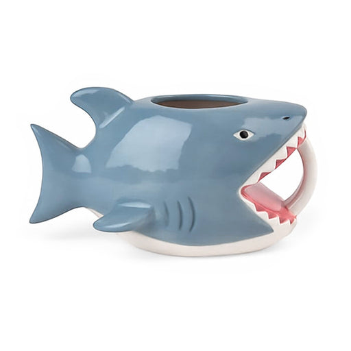 Shark Gift Mug Blue Grey