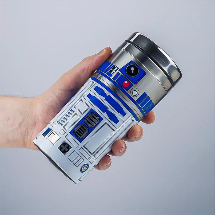 Star Wars Travel Mug R2-D2 Stainless Steel In Hand Image