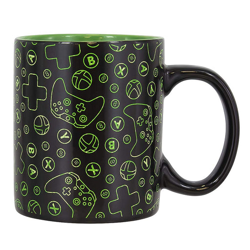 Xbox Heat Changing Mug Black