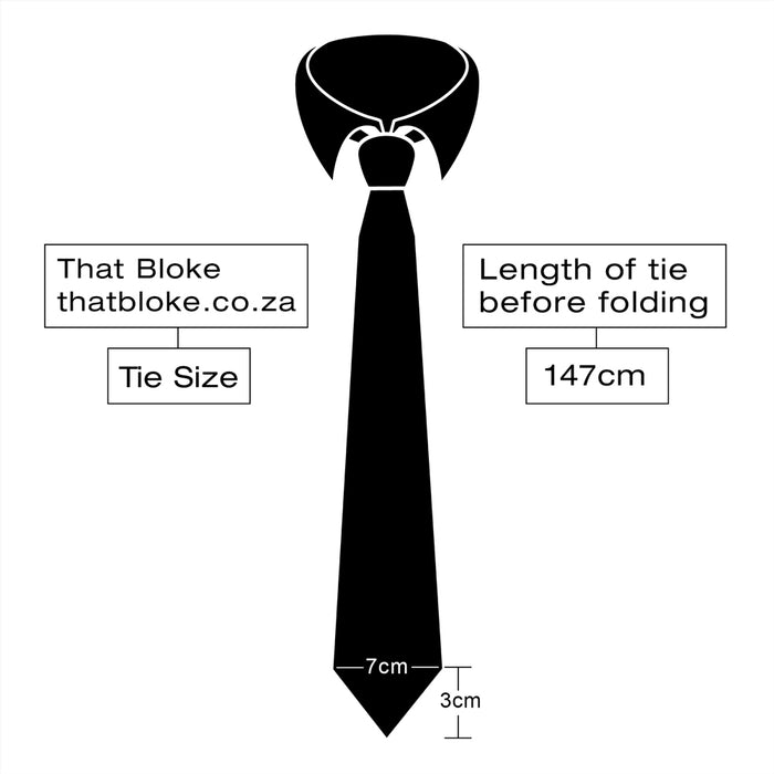 Neck Tie - Green Dark (Patterned)