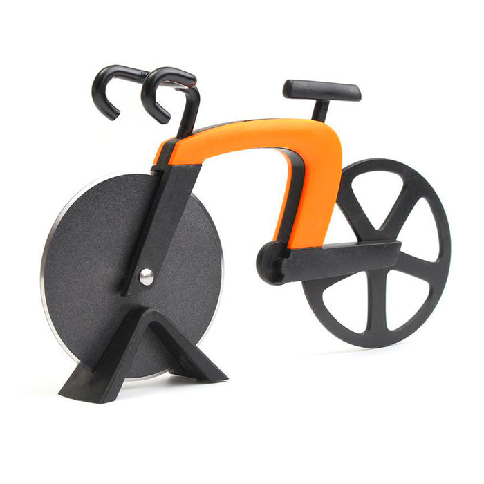 Bicycle Pizza Cutter (Orange) | That Bloke