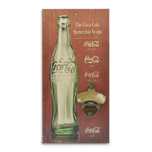 Retro Wall Mounted Beer Bottle Opener - Coca-Cola Bottle