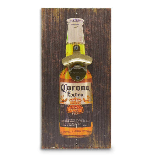 Retro Wall Mounted Beer Bottle Opener - Corona Bottle