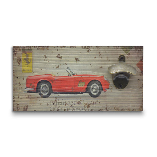 Retro Wall Mounted Beer Bottle Opener - Ferrari 250 GT | That Bloke