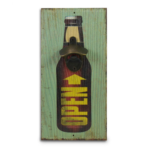 Retro Wall Mounted Beer Bottle Opener - Open Bottle | That Bloke