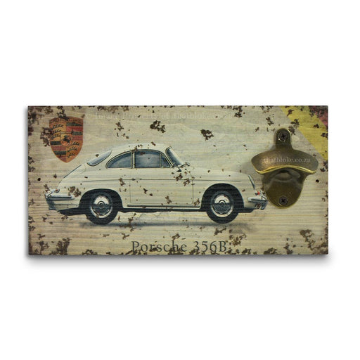Retro Wall Mounted Beer Bottle Opener - Porsche 365B | That Bloke