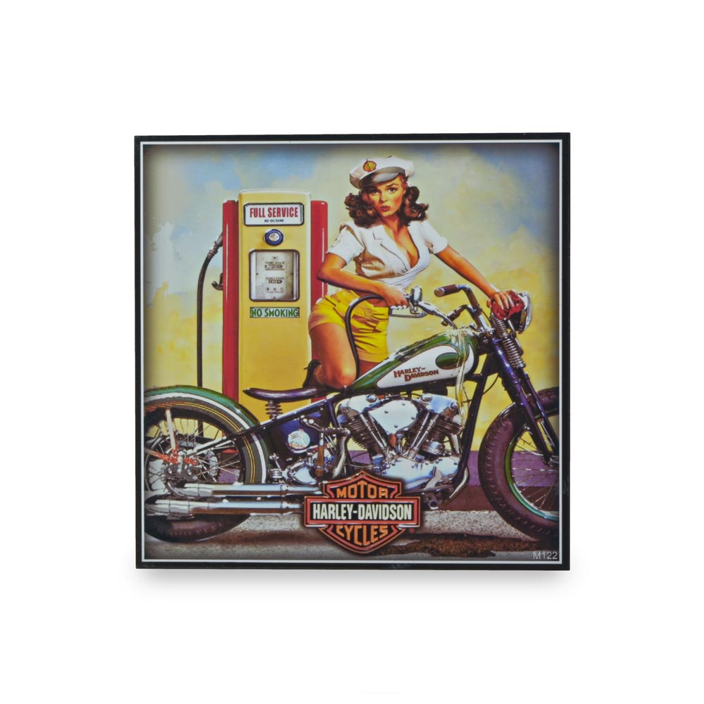 Small Block Print - Harley Davidson Motorcycles Full Service | That Bloke