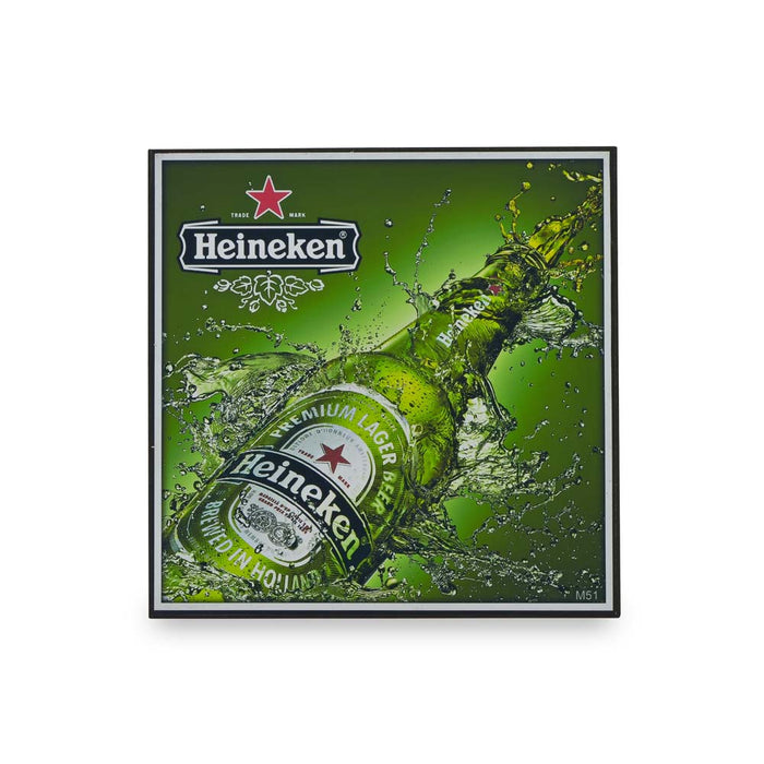 Small Block Print - Heineken Bottle | That Bloke