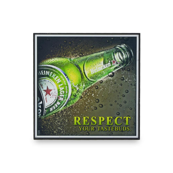Small Block Print - Heineken Respect | That Bloke