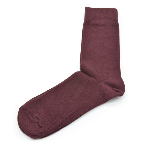Cotton Socks - Maroon
