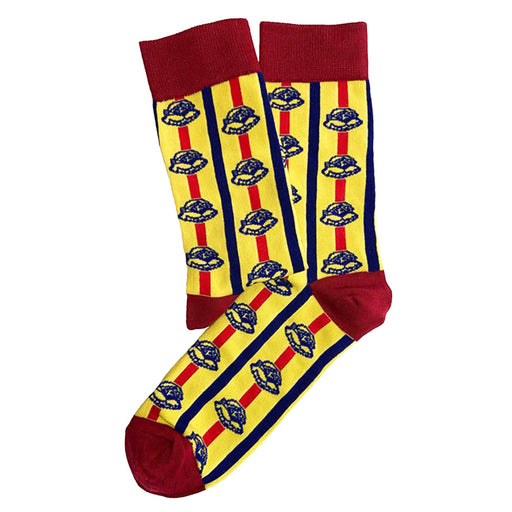 Chappies Socks Yellow South Afircan Cotton Pair