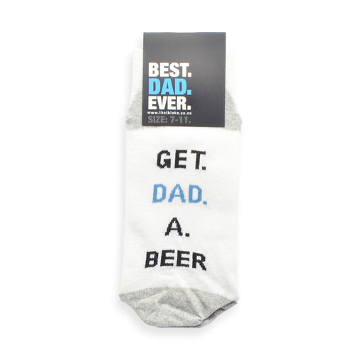 Best Dad Ever Socks - Get Dad A Beer
