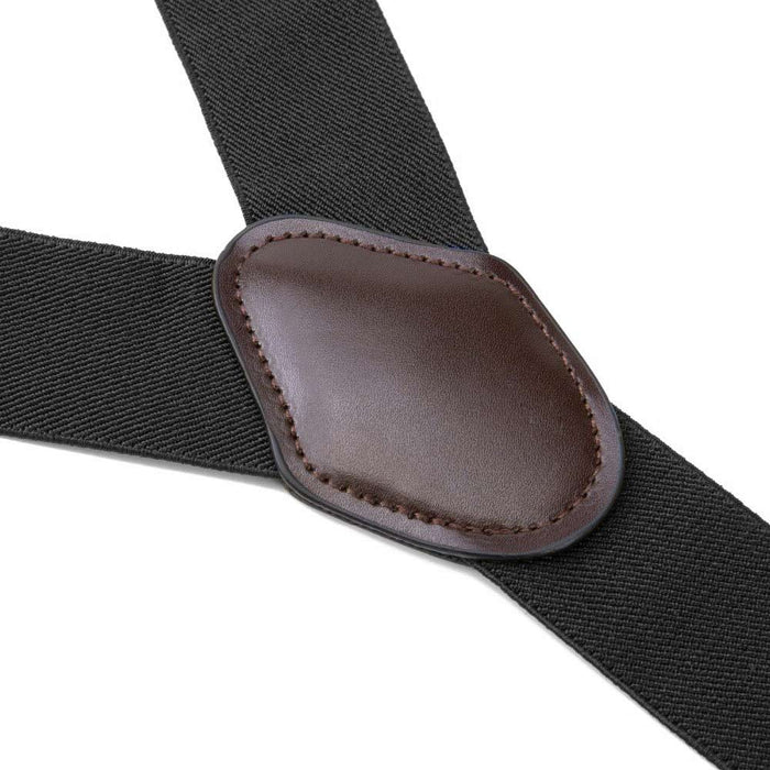 Suspenders Six Clip - Black