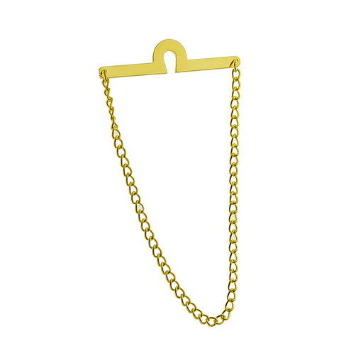 Gold Tie Chain For Men