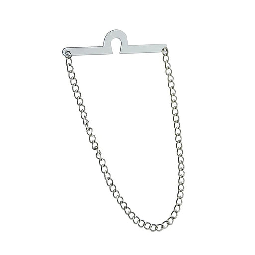 Silver Tie Chain For Men