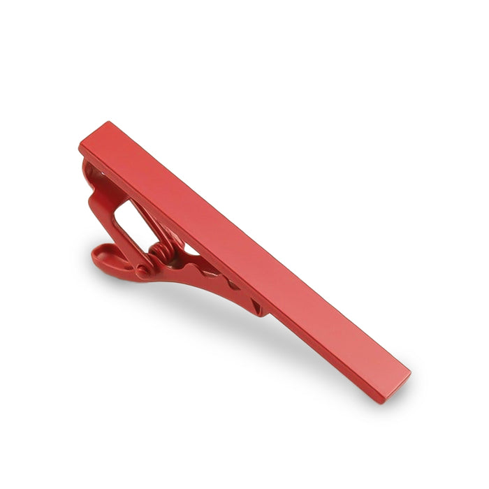 Light Red Tie Clip Short Front Image