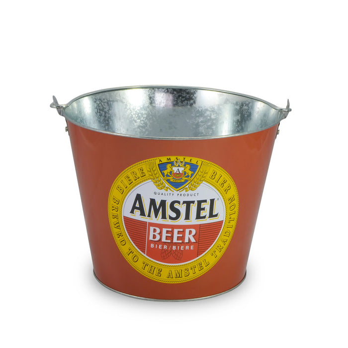 Tin Ice Bucket - Amstel Beer