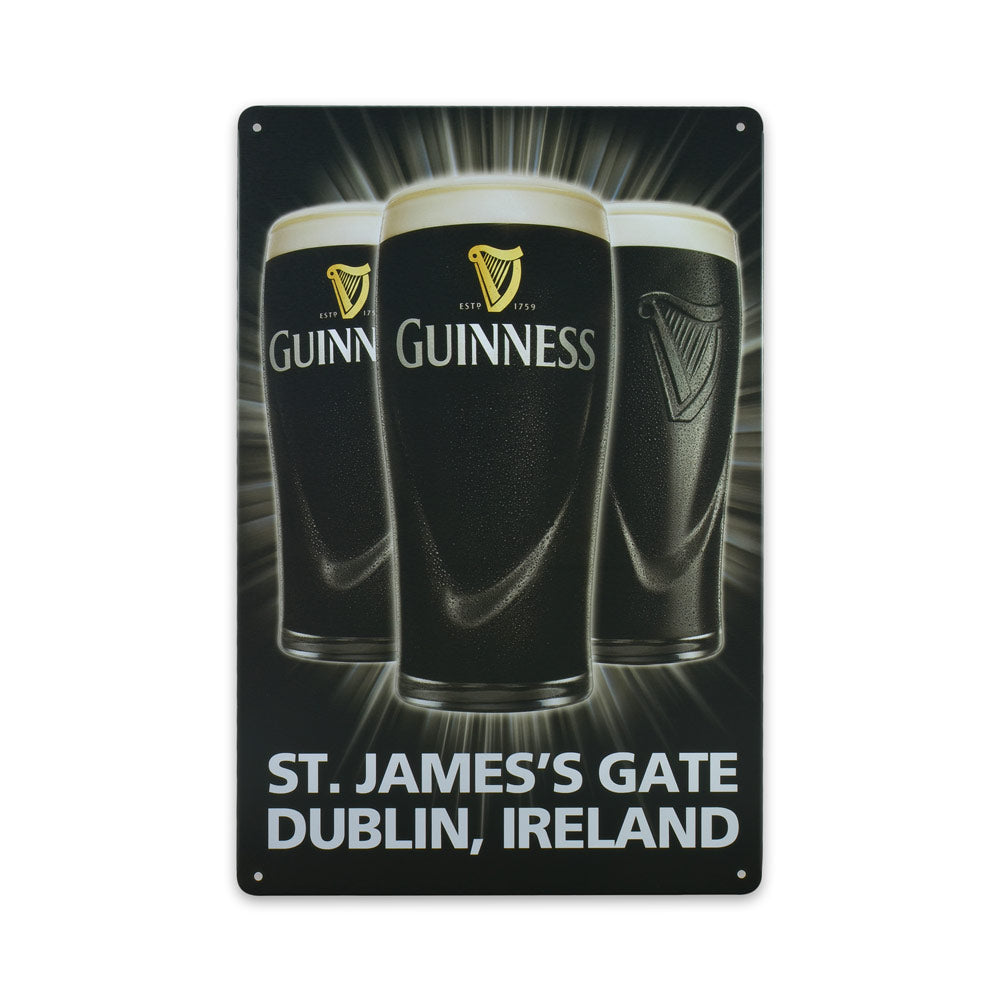 Medium Tin Sheet Graphic Print - Guinness Beer Ireland | That Bloke