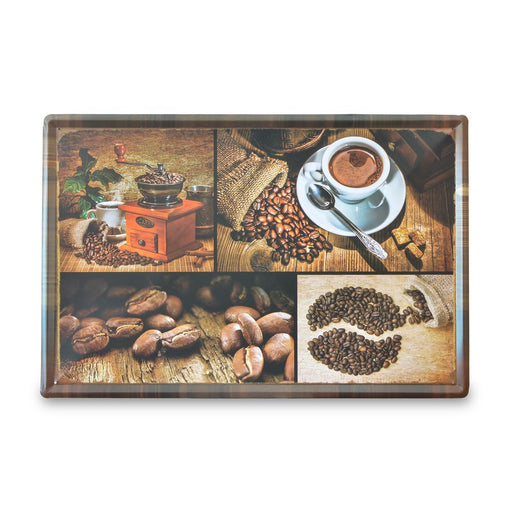 X-Large Tin Sheet Graphic Print - Roasted Coffee Beans | That Bloke